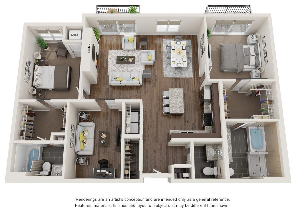 apex floor plan