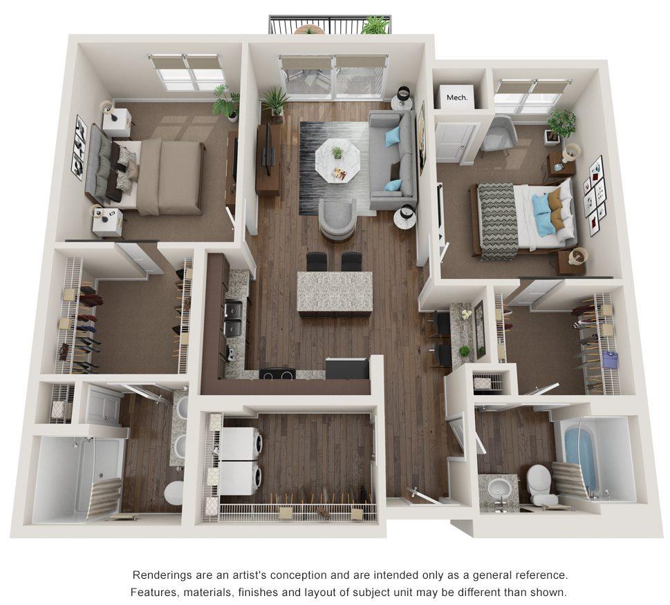 azimuth floor plan
