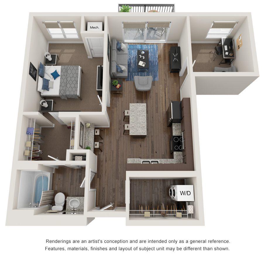 equinox floor plan