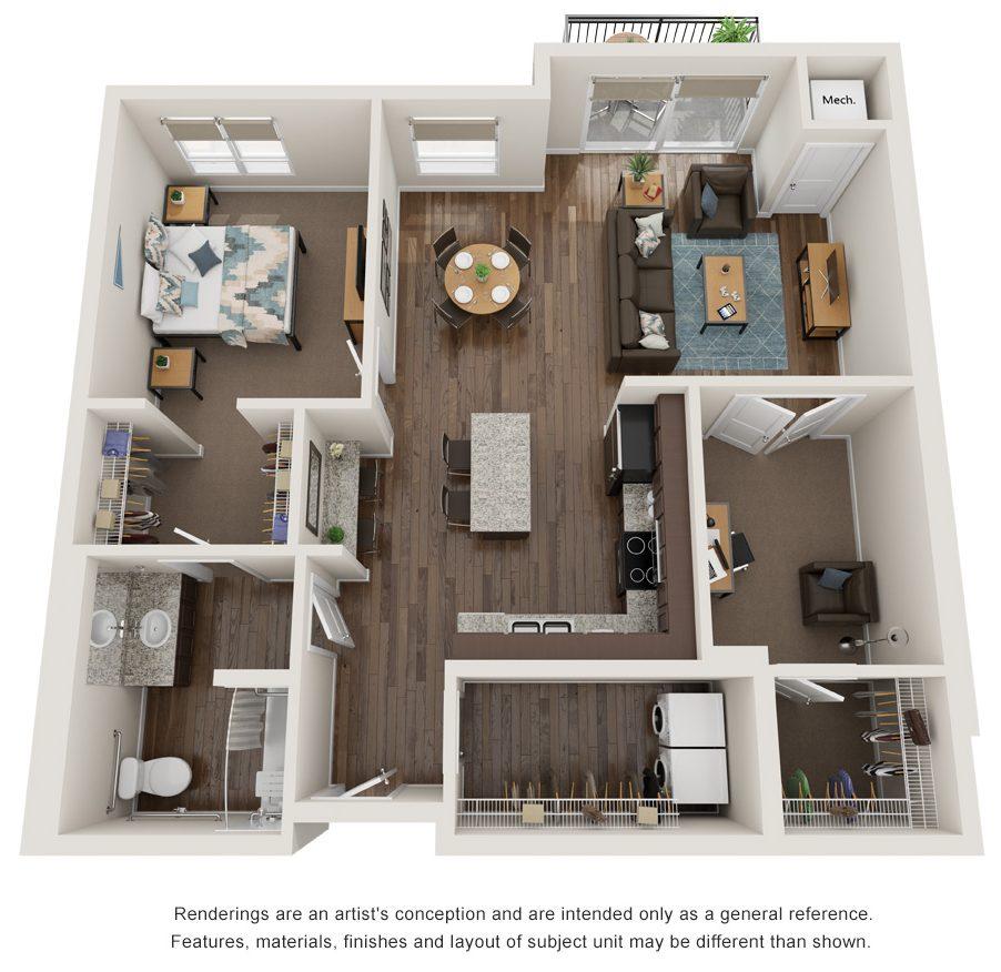 orbit floor plan