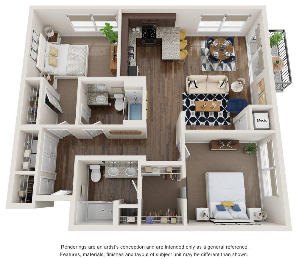 voyage floor plan