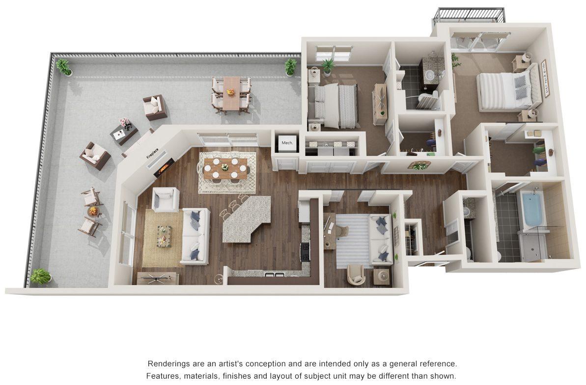 zenith floor plan